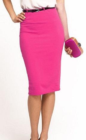 Elastická pouzdrová sukně 64ce8b779d
